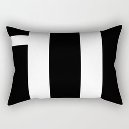 simple is ill BL Rectangular Pillow