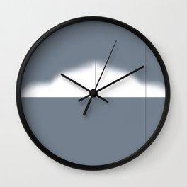 Calculus Gray Wall Clock