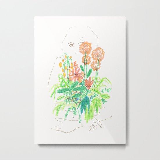 Flower flower Metal Print