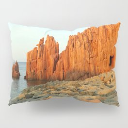 Red Rocks of Arbatax - Italy Pillow Sham