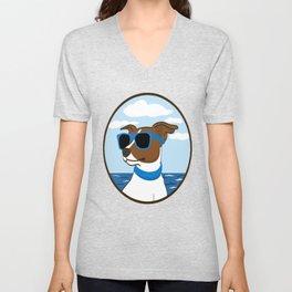 Cool Doggy Style Unisex V-Neck