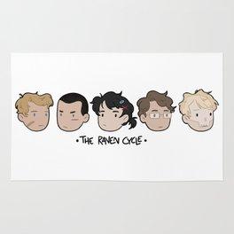 The raven boys Rug