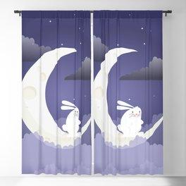 MOON BUNNY Blackout Curtain