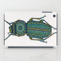beetle iPad Cases featuring Beetle by Emilie Darlington