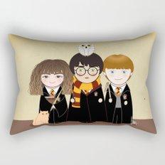 Kokeshis Hermi, Harry and Ron Rectangular Pillow