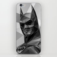 bat man iPhone & iPod Skins featuring Bat man by Filip Peraić