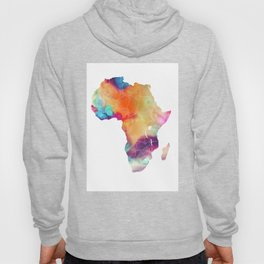 Africa Map 3 Hoody