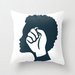 Strong Black Woman Throw Pillow