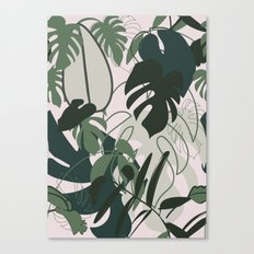 BOHO JUNGLE Canvas Print