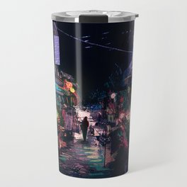 Blues of the Night Travel Mug