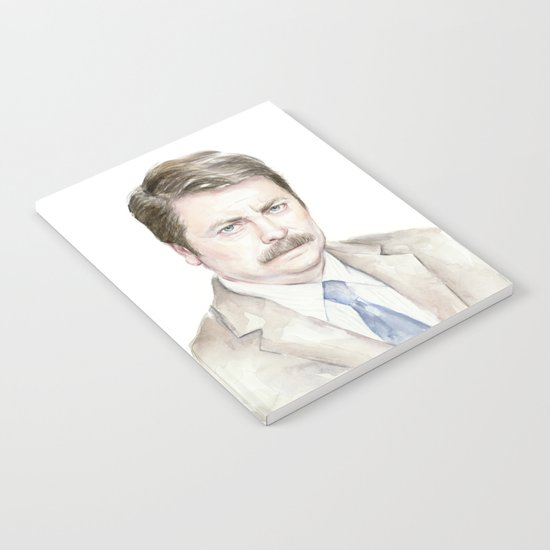 Swanson Watercolor Ron Notebook