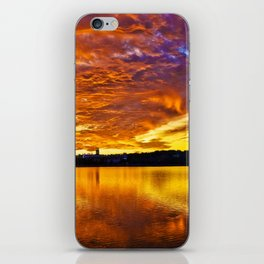 Burning Sky iPhone Skin