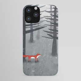 The Fox and the Forest iPhone Case