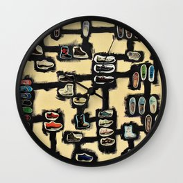The Shoe Makes the Man (Max Ernst) Wall Clock