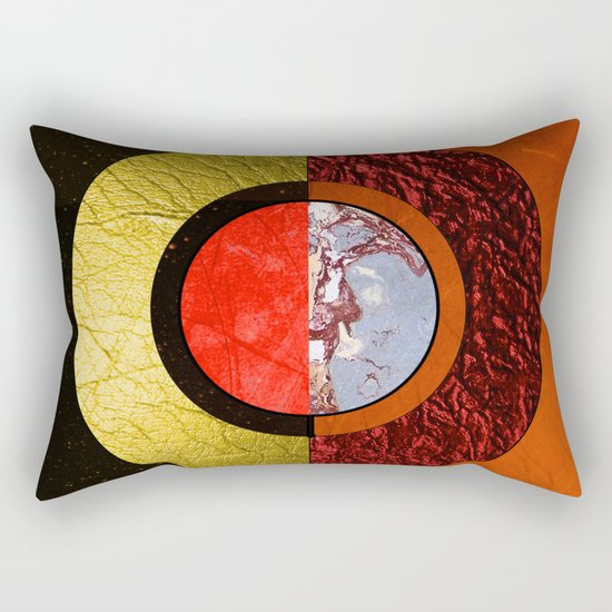 Abstract #121 Rectangular Pillow