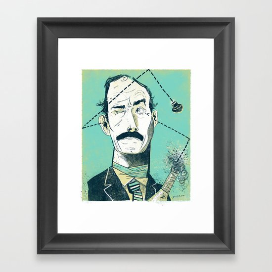 John Cleese Framed Art Print