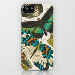 Butterfly Print by E.A. Seguy, 1925 #1 iPhone Case