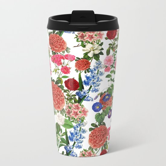 Botanical Garden Metal Travel Mug