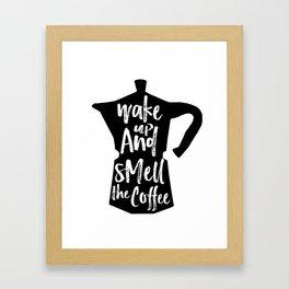 Coffee Art, Coffee Printable, Coffee Print, Digital Print, Kitchen Art, Coffee Art Print, Coffee Quo Framed Art Print