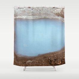 Geysir- Iceland Shower Curtain