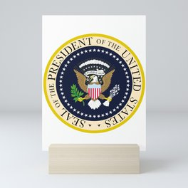 US Presidential Seal Mini Art Print