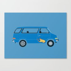 Wayne's Van Canvas Print