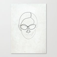 One Line Trinity Canvas Print