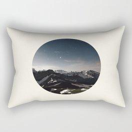 Mountain Starry Night Rectangular Pillow