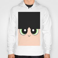 powerpuff girls Hoodies featuring Buttercup -The Powerpuff Girls- by CartoonMeeting