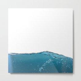 submerge in water Metal Print