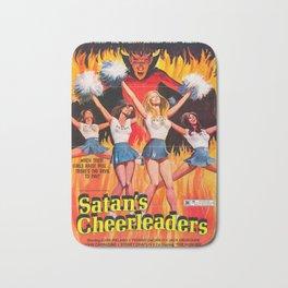 Satan's Cheeleaders 1977 Vintage Movie Poster Bath Mat