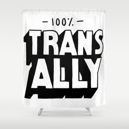 100% Trans Ally Shower Curtain