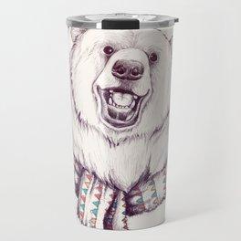 Bear & Scarf Travel Mug