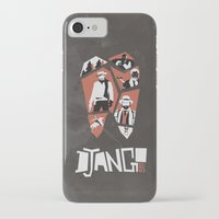 django iPhone & iPod Cases featuring Django Unchained by Lechaftois Boris (LBö)