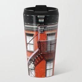 new york city ... fire escape Travel Mug
