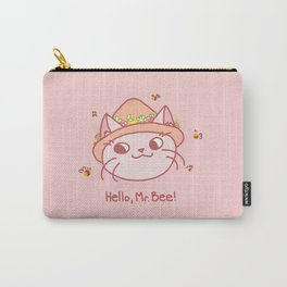 Spring Kitty Carry-All Pouch