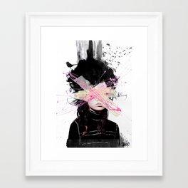 nothing at all.... Framed Art Print