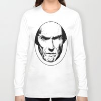 clint eastwood Long Sleeve T-shirts featuring Clint Eastwood by Zombie Rust
