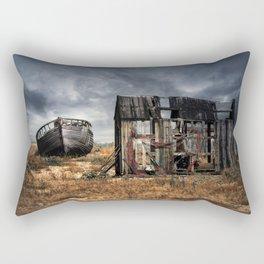Fisherman Memories Rectangular Pillow