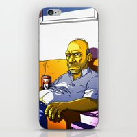 homer iPhone & iPod Skins featuring Depressed Homer by Adrien ADN Noterdaem