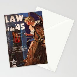 Law Of The '45 Stationery Cards