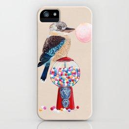 Kookaburra Gumball Machine iPhone Case