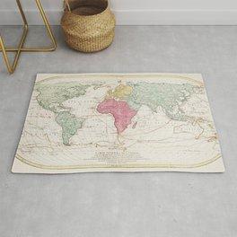 Mappe Monde ou Carte generale de lUnivers (1782) by Mathieu Albert Lotter Rug