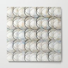 Circles and circles Metal Print