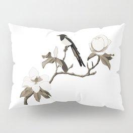 Magpie and Magnolia Pillow Sham