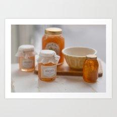 Honey Love Art Print