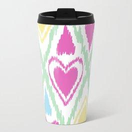 Abstract drawing Heart. Travel Mug