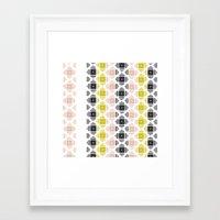 kilim Framed Art Prints featuring Kilim 2 by 603 Creative Studio
