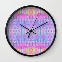 Floradelic Wall Clock