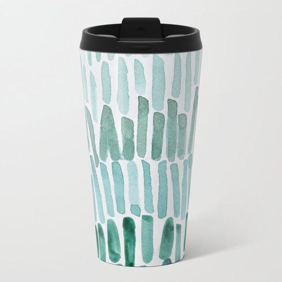 Drip Drop Metal Travel Mug